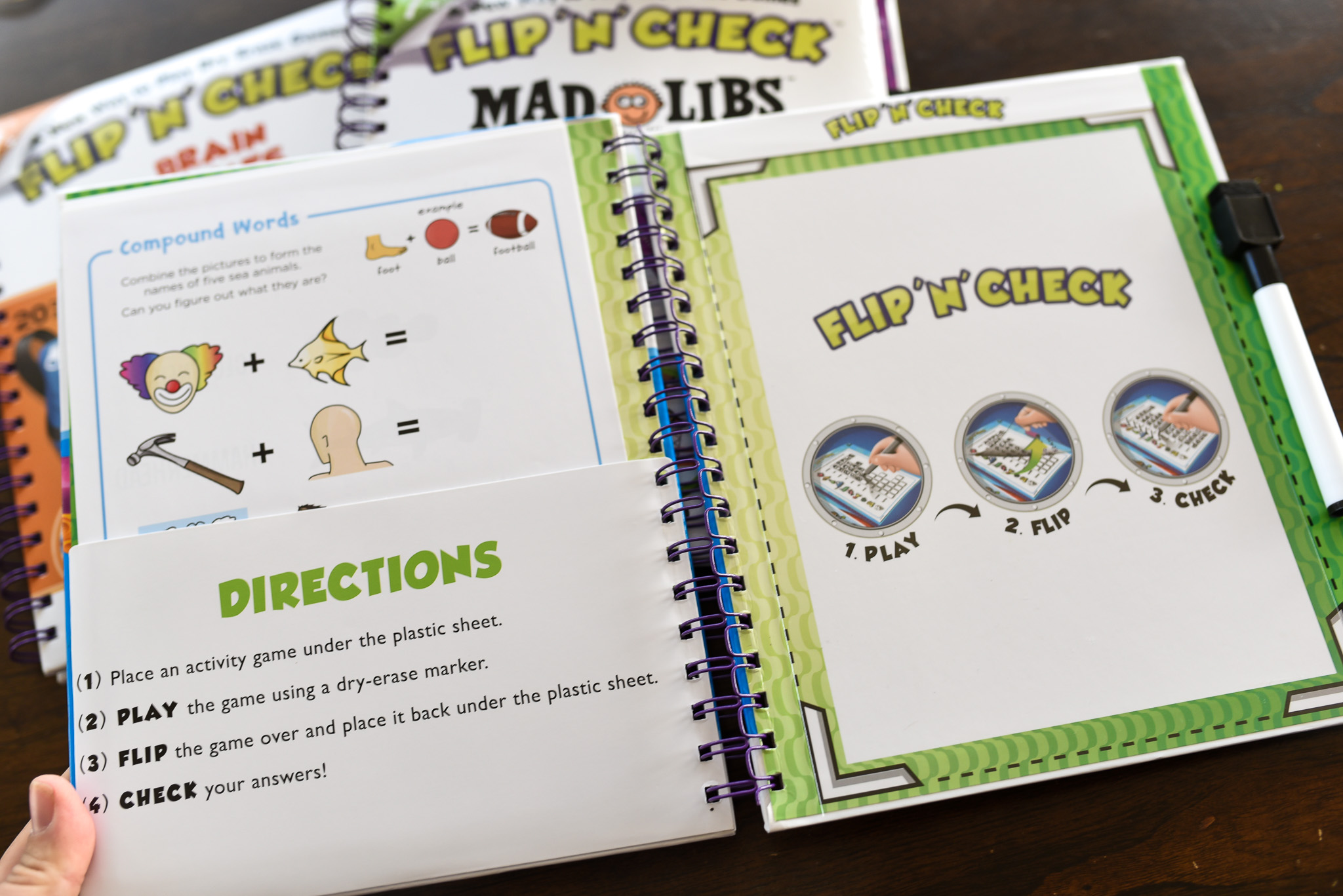 Flip and Check Activity Book
